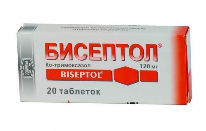 Инструкция по применению лекарственного средства Бисептол