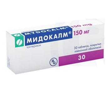 Инструкция по применению лекарственного средства Мидокалм