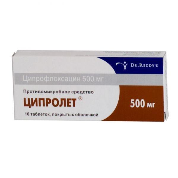 Инструкция по применению лекарственного средства Ципролет