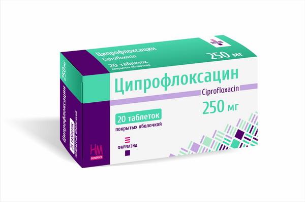 Инструкция по применению лекарственного средства Ципрофлоксацин