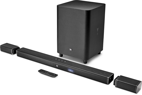 Инструкция к саундбару JBL Bar 5.1 Black (JBLBAR51BLKEP)
