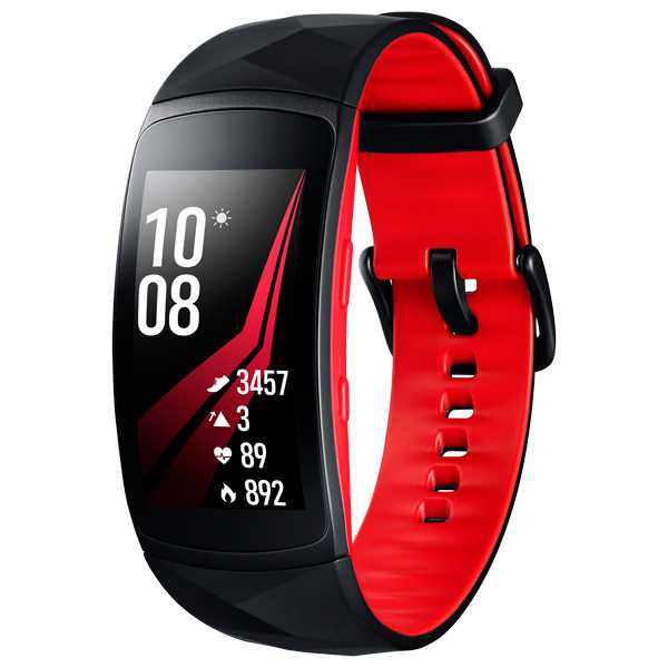 Инструкция к фитнес-браслетам Samsung Gear Fit2 Pro Black Red размер L