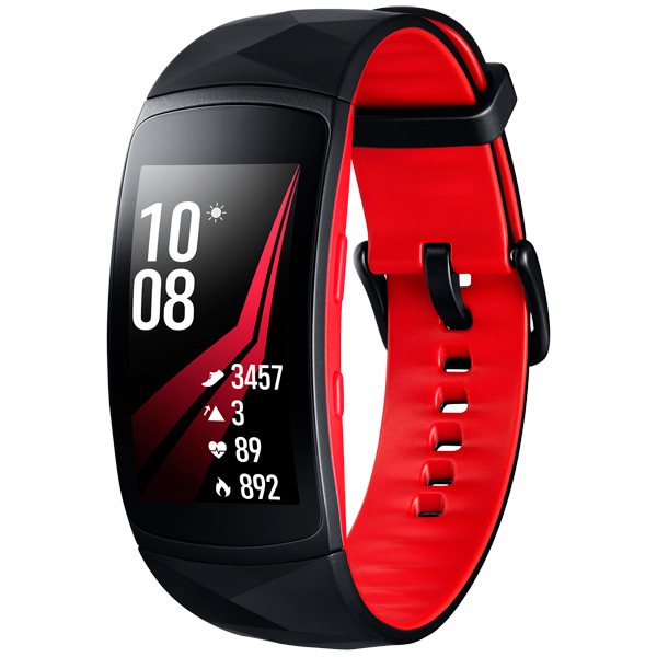 Инструкция к фитнес-браслетам Samsung Gear Fit2 Pro Black Red размер S