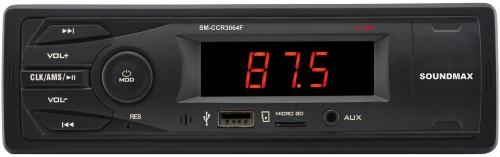 Инструкция к автомагнитоле Soundmax SM-CCR3064F